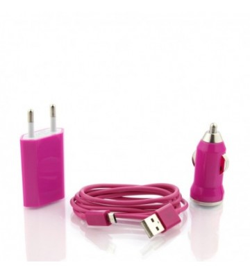 3 in 1 micro usb charger